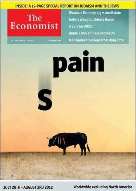 The Economist: SPAIN = iS PAIN