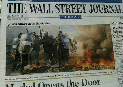 Asturies portada en The Wall Street Journal